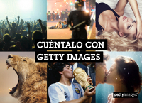 Getty Images reta a los delegados a ser creativos