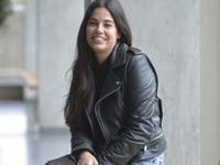 Aida Pozuelo se sentó en la 'silla silenciosa'