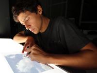 El publicitario que dibuja sobre las nubes