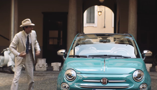 el fiat 500 celebra su 60 aniversario con un corto protagonizado por adrien brody m s anuncios. Black Bedroom Furniture Sets. Home Design Ideas