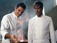 Roger Federer también quiere triunfar en la cocina