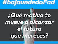 #BajaUnDedoFad, el reto a los jóvenes frente a la COVID-19